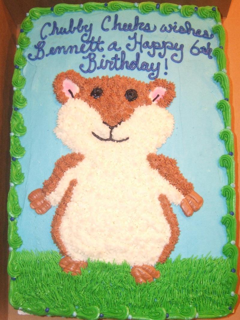 Cake - Hamster birthday cake