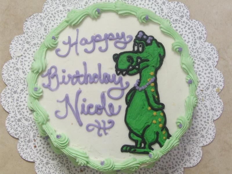 Dinosaur/ T-Rex Cake