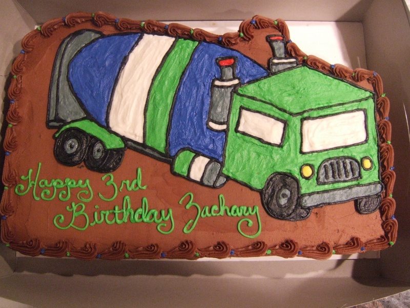 Cement Mixer Cement Truck Cake